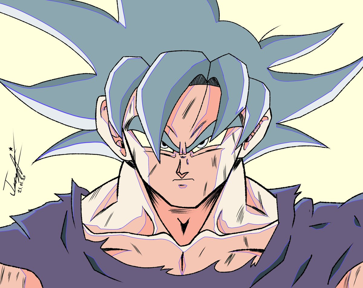 Dbs - Goku Ultra Instinto Genga.  Intente hacer algo al estilo de Sato, claro tuve mucha ayuda para lograrlo :)  #dbzkakarot #goku #DBZ #db #dbgt #arte #art #Digital #traditional #DragonBallSuper #DragonBallZ #DragonBall #dragonballgtpic.twitter.com/bDLNcOzbLB