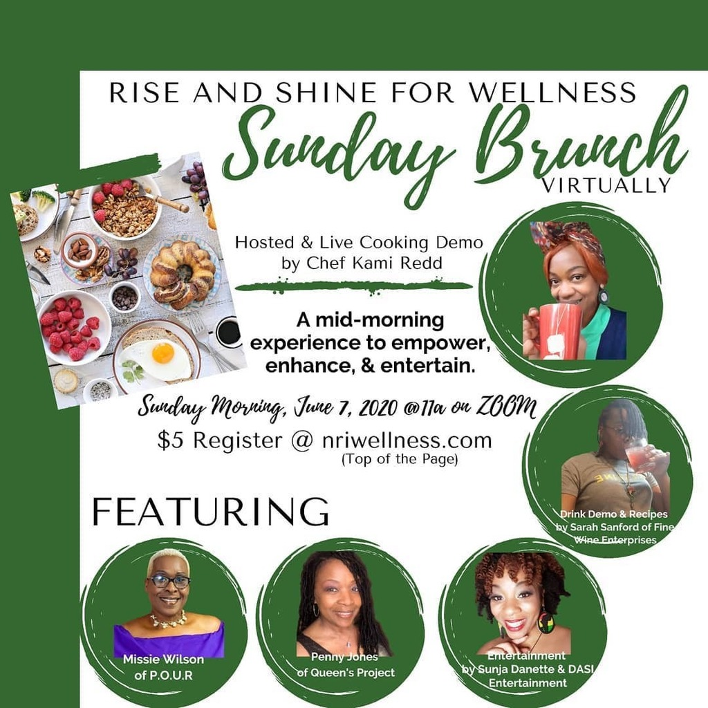 So I've been cooking up something fun for y'all with a few of my friends.  Join us for #SundayBrunch where we talk life lessons, food, business, & more... Hosted & Live Cooking Demo by Me(@chefkamiredd)  Drink Demo & Recipes by Sarah Sanford (@fi… https://instagr.am/p/CAs72-SDuEg/pic.twitter.com/DdVrxTgImL