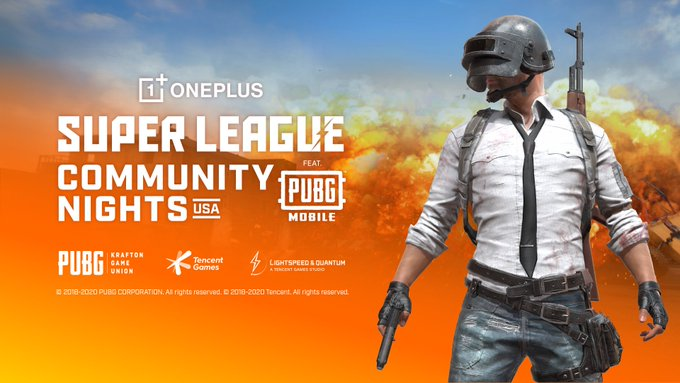 PUBG Mobile and Super League Gaming is Giving away Two Oneplus 8 Interstellar Glow 5G Phones
