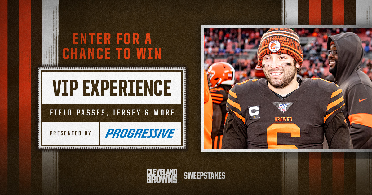 Enter for a chance to win a VIP game day experience package including tickets, field passes and more c/o @Progressive! ➡️ brow.nz/15c02