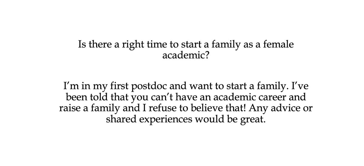 Hi friends! I got another great question from a follower, and I hope you'll be able to offer some insight❤️ Please RT #AcademicTwitter #phdchat @MonicaMalta7 https://t.co/faHErngcrd