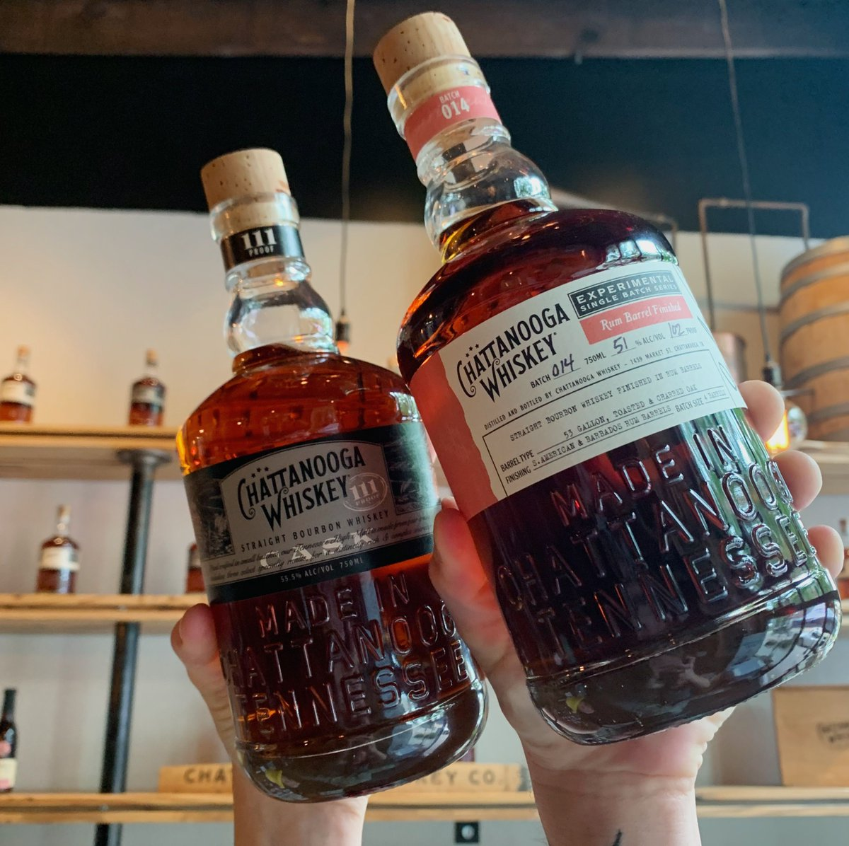 Join us for @bourboncharity's Bourbon Bingo Zoom Party this Saturday for a chance to win a bottle of Chatt Whiskey Cask 111 and Batch 014! All proceeds go to support the struggling hospitality industry, more information and sign up can be found here: https://bourboncharity.org/pages/virtual-bourbon-bingo…pic.twitter.com/NZXnNM3PIx