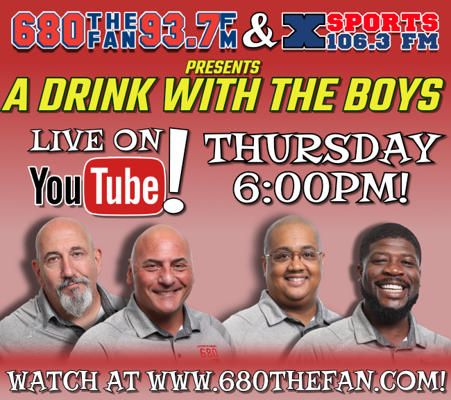Mark your calendar! Tomorrow at 6pm, join the boys for a drink! @CelliniNick @chrisdimino @HometeamBleak @joeham14 Click Here to Join: youtu.be/JScIpoj7tPA