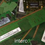 Image for the Tweet beginning: Interco purchases #GoldMemory anywhere in