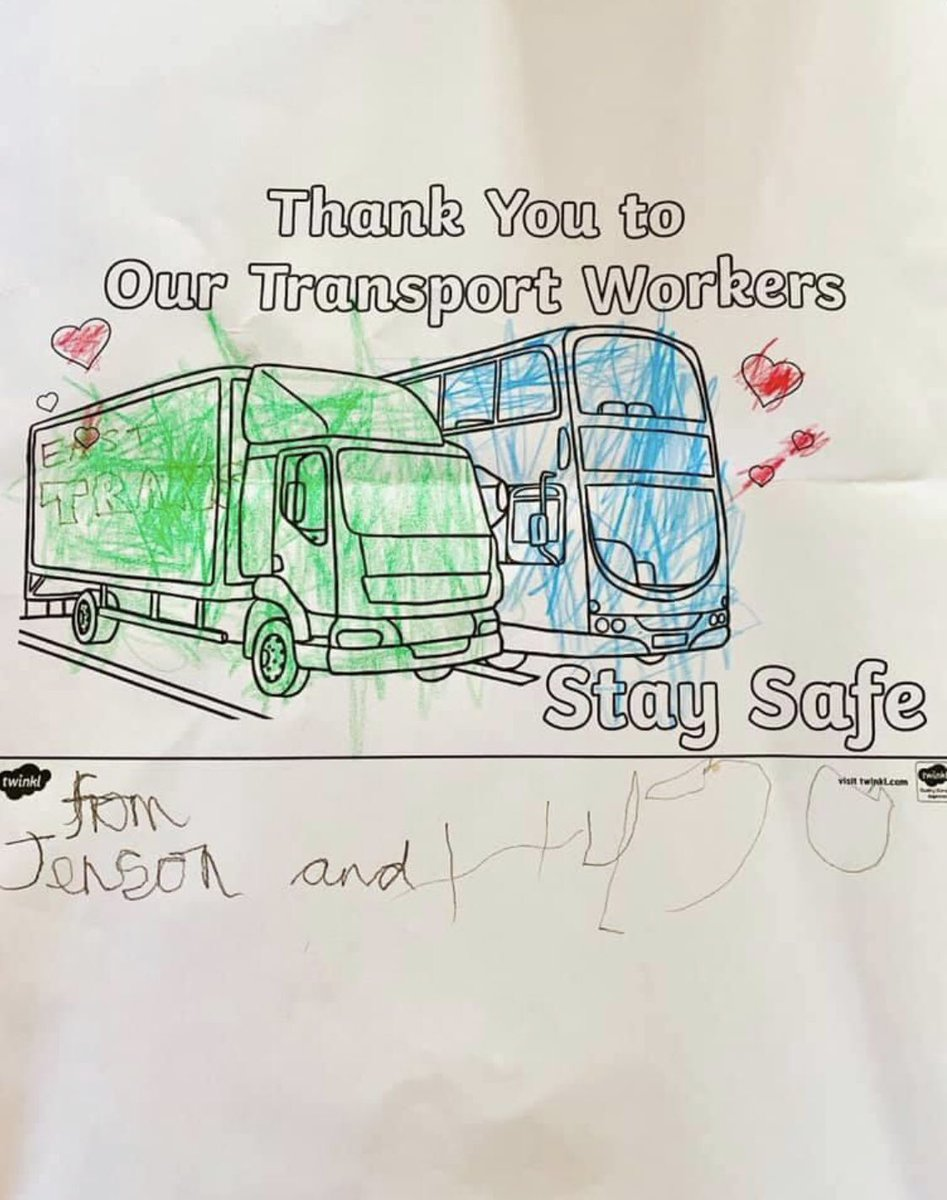 Artwork received today for our #Transport Office. Thank you Jenson & Hugo it will take pride of place  pic.twitter.com/HE7vgk9d40