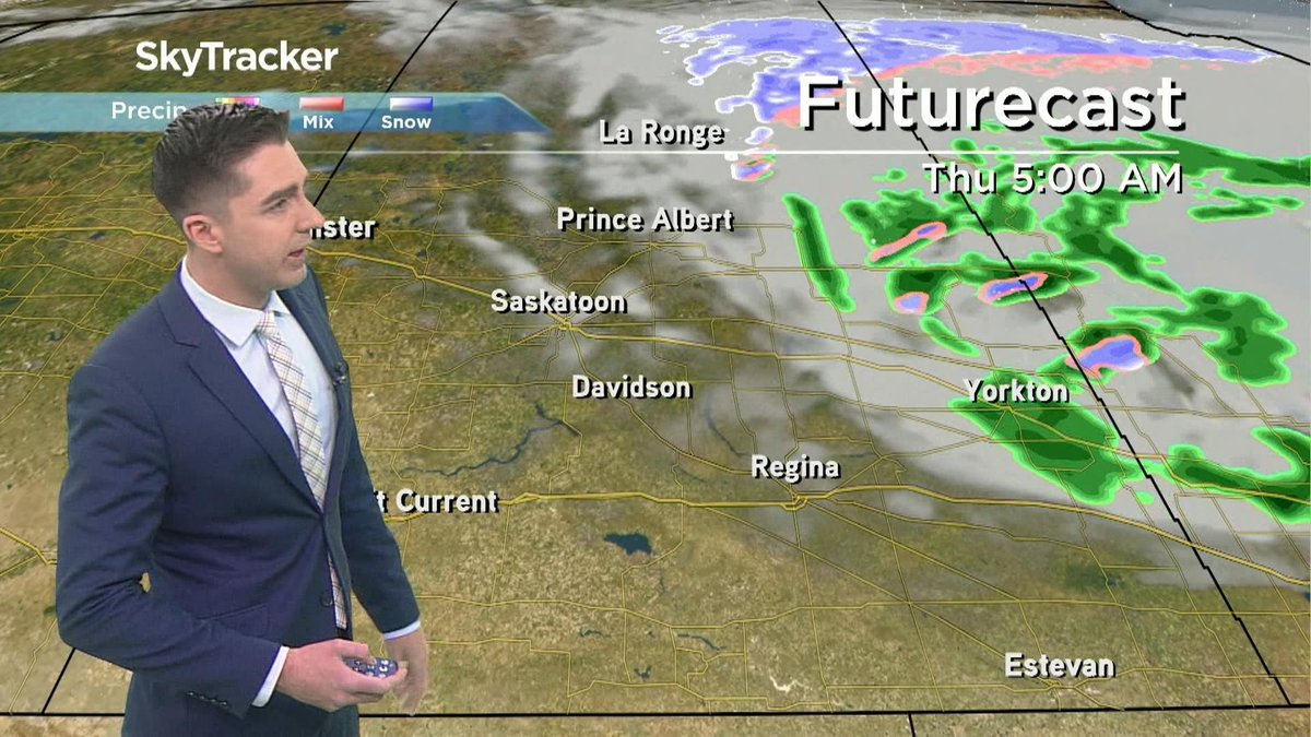 WATCH: The 7-day #Sask weather forecast with @PQuinlanGlobal on Wednesday, May 27. FULL WEATHER COVERAGE: https://trib.al/N7HiGcD  #yqr #skstormpic.twitter.com/oqK74QMrc5