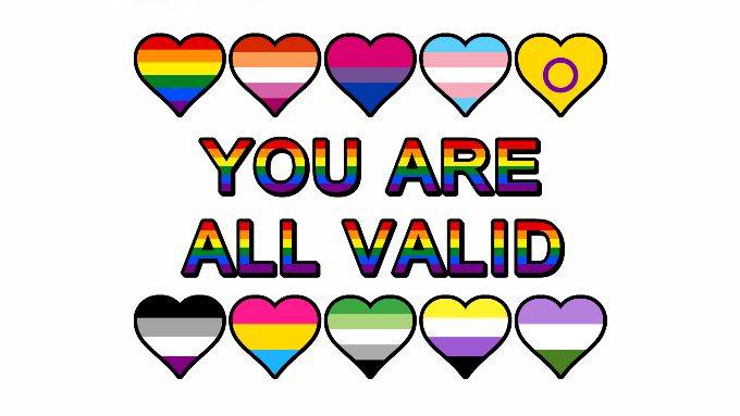 You Are All Valid   #LoveIsLove #YouAreValid #YouAreAllValidpic.twitter.com/t2bhDZAvoS