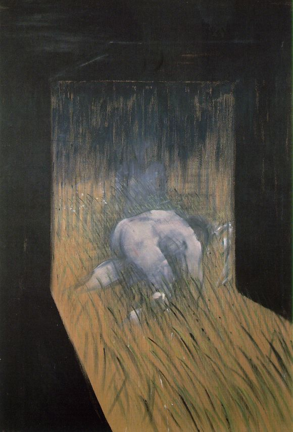 Man Kneeling in Grass, 1952 #francisbacon #bacon pic.twitter.com/Enywi6T4Fi