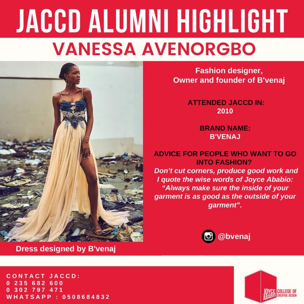 Joyce Ababio College Of Creative Design On Twitter Catch Us Live Tomorrow On Instagram At 7pm We Will Have A Chat With Our Alum Bvenajofficial Onthecouchwithjaccd This Program Is Proudly Sponsored