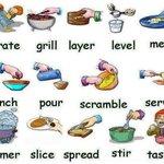 Image for the Tweet beginning: ¿Conocías estos verbos sobre cocinar