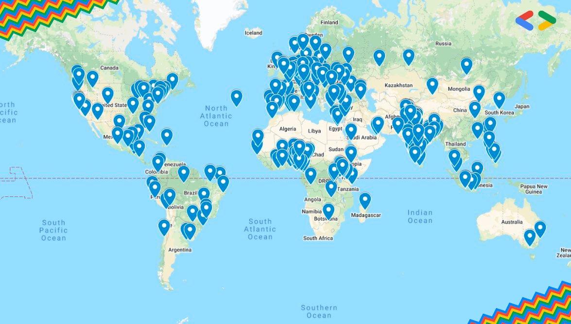 Olha, que EVENTO!  💙#FlutterDay, 25 de junho 💙24 horas de evento digital 💙3 segmentos de livestream 💙Codelabs e MT mais  Junte-se à comunidade Flutter ao redor do mundo. 🌎  Mais informações → https://t.co/U63oIncqLI Inscrições → https://t.co/cLXmG8P4u0 https://t.co/K2t8FcFpkH