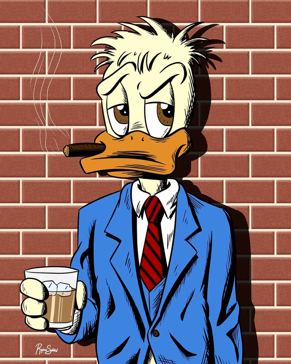 This is what I drew on Twitch today. You can follow me and watch the replay on my channel cartoonryan. #howardtheduck #marvel #art #drawing #digitalart #livestreaming #twitch #houstonartist #CartoonU