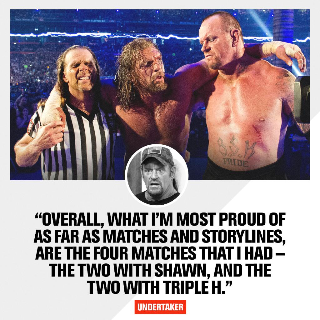 The End of an Era. An unparalleled story.  #TheLastRide @undertaker @TripleH @ShawnMichaels https://t.co/uFosQoUq14