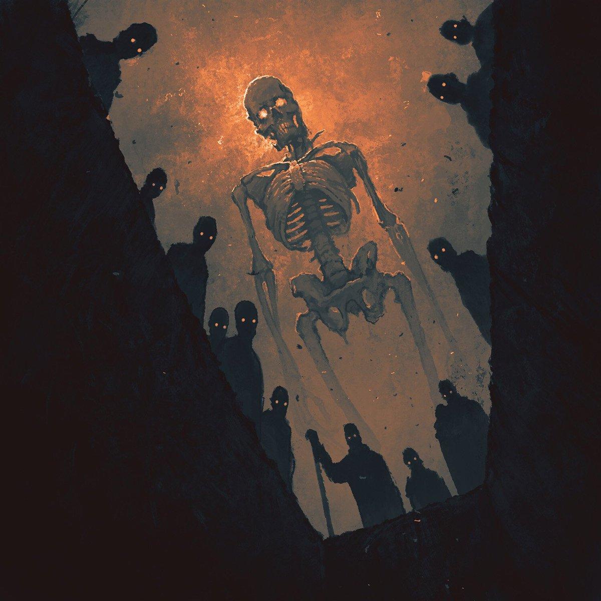 I Felt a Funeral in My Brain  #Art by Boris Groh <br>http://pic.twitter.com/mSjLCLOHDx