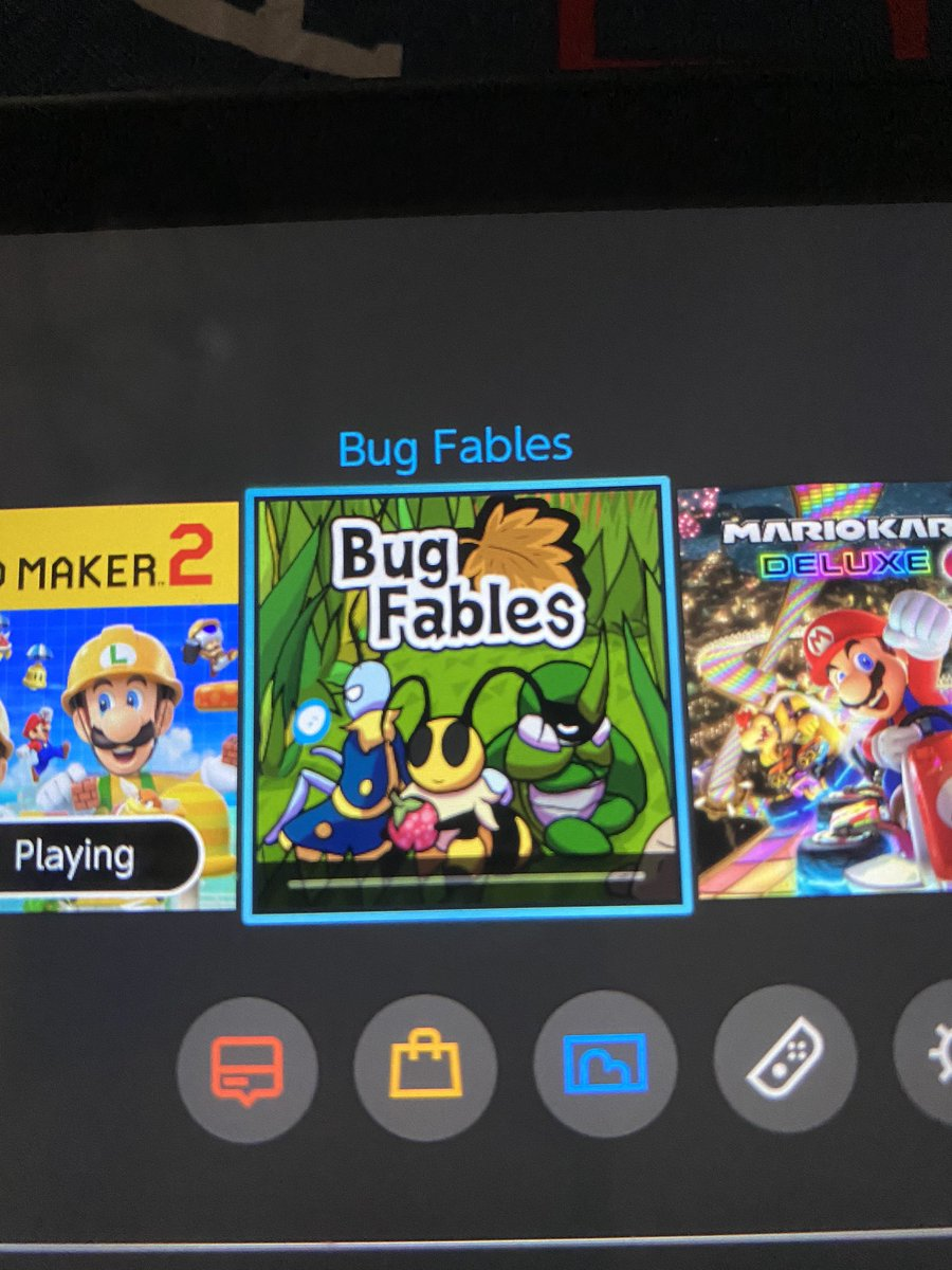 I'm sooo excited for this game it plays Mario! It looks soooo good! #Bugsfables #NintendoSwich #awesomness