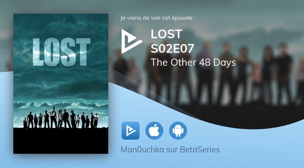 #NowWatching Lost S02E07 The Other 48 Days <br>http://pic.twitter.com/Mky73EoVmy