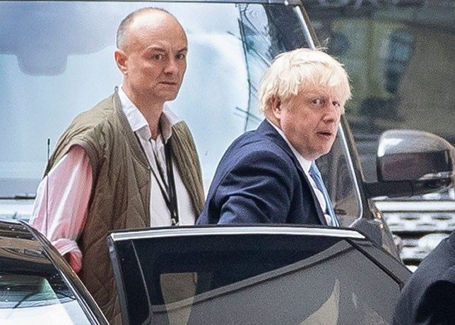 Rest of the world believes Dominic Cummings is in charge, not Boris buff.ly/2TLJfLF