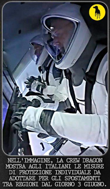 #CrewDragon