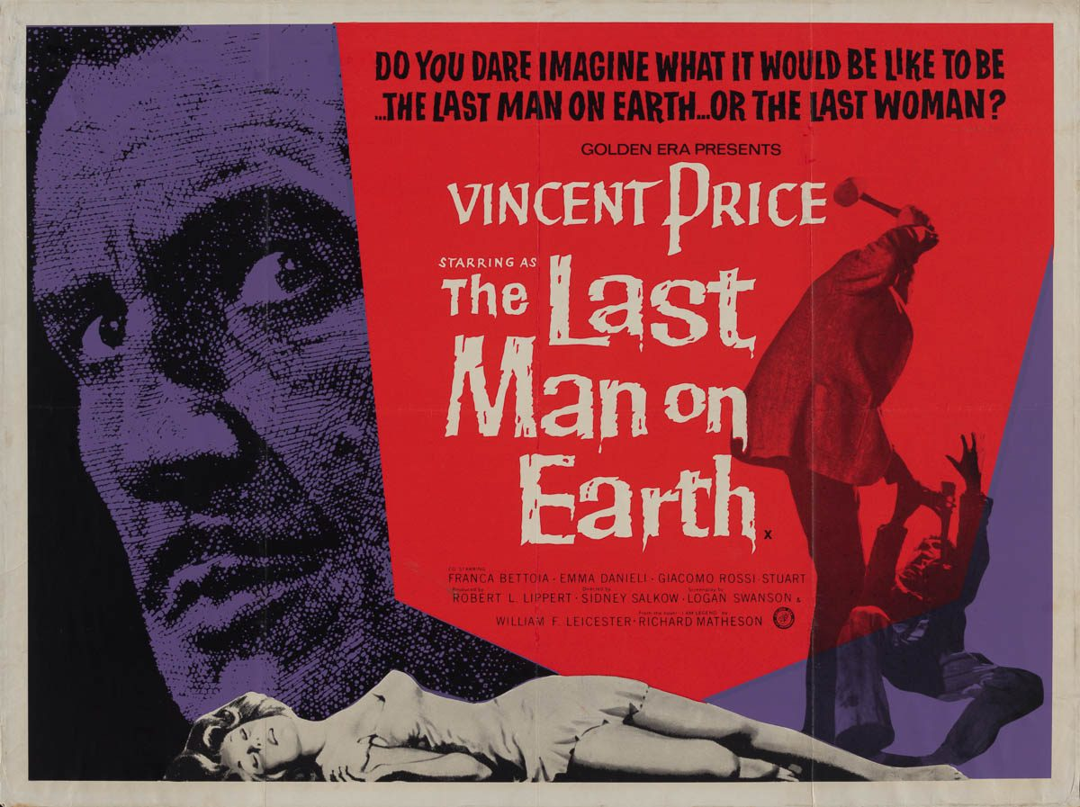 """#NowWatching """"The Last Man On Earth"""" (1964). <br>http://pic.twitter.com/bTgSNxBwuN"""