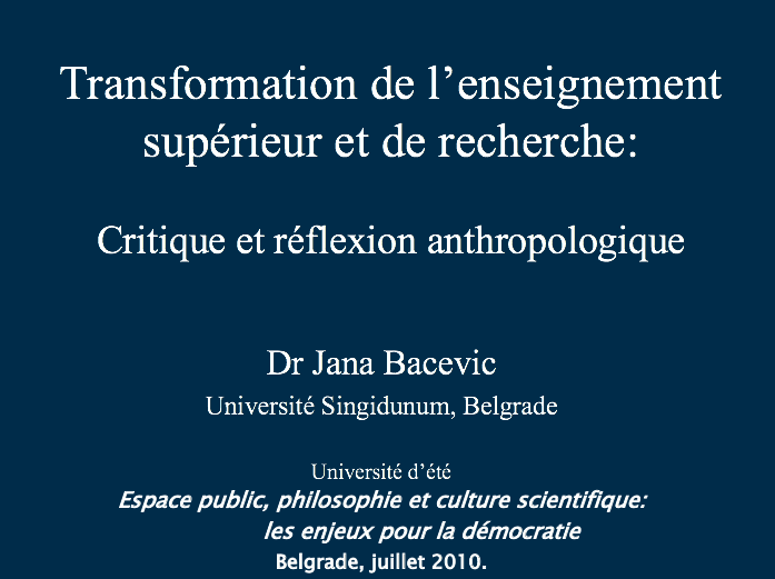 Digging through my external drive and have discovered a talk I gave at a summer school in 2010 (after my first year of teaching). Somewhat disappointing to observe that the only thing Ive gained meanwhile (besides a PhD in another discipline) is a slightly better taste in PPTs.