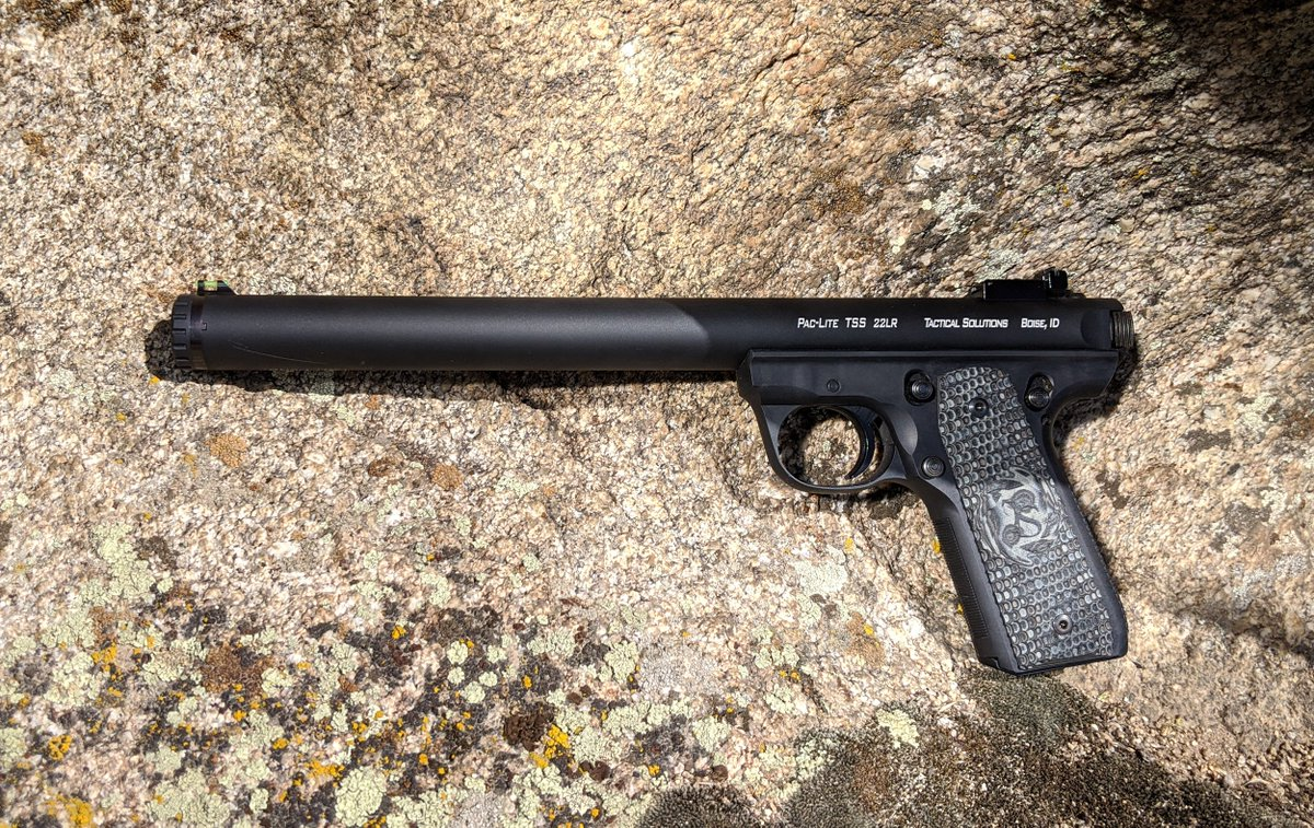 We have an extensive line of suppressed products - our TSS products are the perfect upgrade for your Ruger® .22LR rifle or pistol. #TacSol #tacticalsolutions #22lr #Rimfire #Pac-Lite #suppressed pic.twitter.com/mBO7iwaXVC