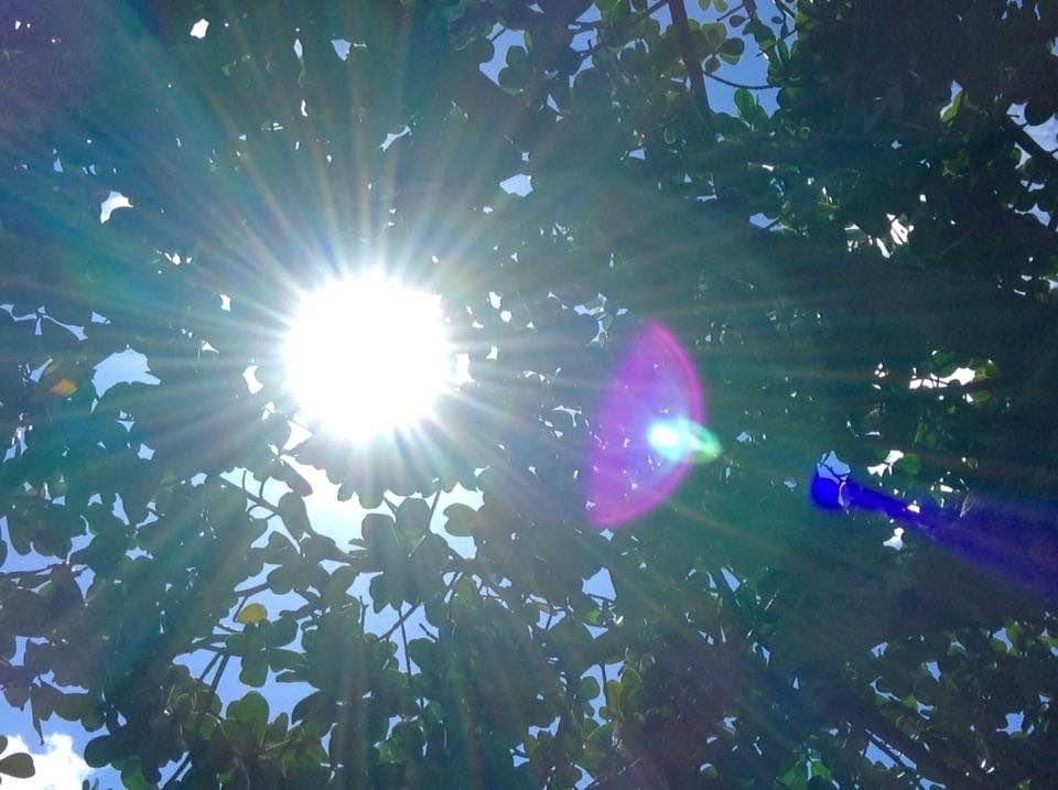 #GreatAwakening  Colorful sunlight rays.... are we getting a glimpse into different dimension or density? <br>http://pic.twitter.com/pnDkEtg4fw