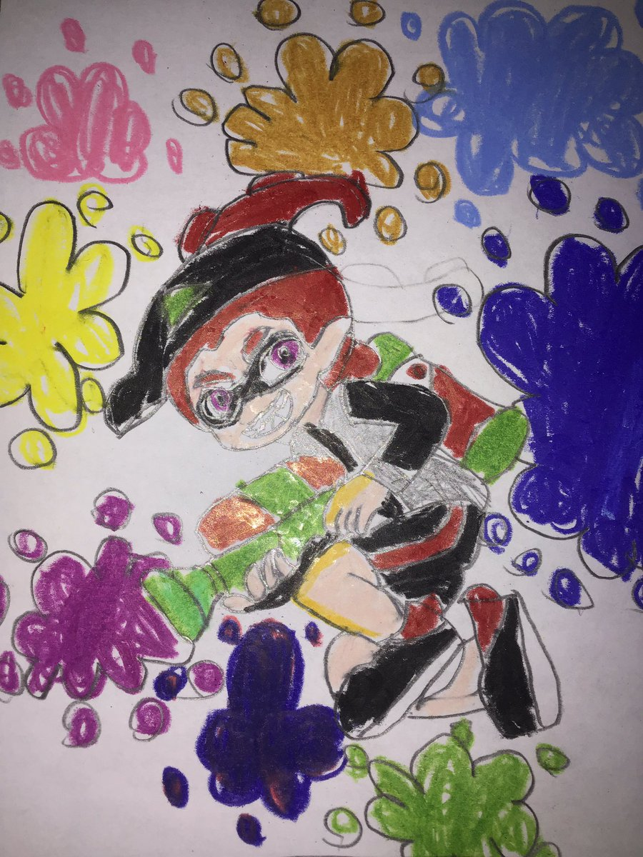 New profile picture after covid 19 until 2021 #octoling #Splatoon #Splatoon2 #Splatfest #Nintendo #NintendoSwich #blacktan6789