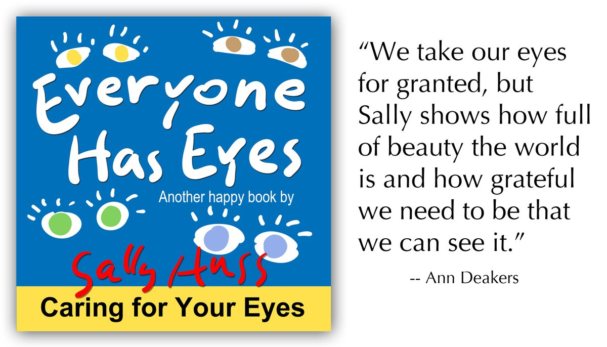 Eyes are a wonderful way to start teaching children the many gifts they have and the importance of taking care of them. Wonderful book! https://www.sallyhuss.com/kids-books.html  #childrensbooks #kidsbooks #family #valuesforkids #picturebooks #kidlit #kidslit  #moms #momblogger #parentingpic.twitter.com/l6xilnyBwI