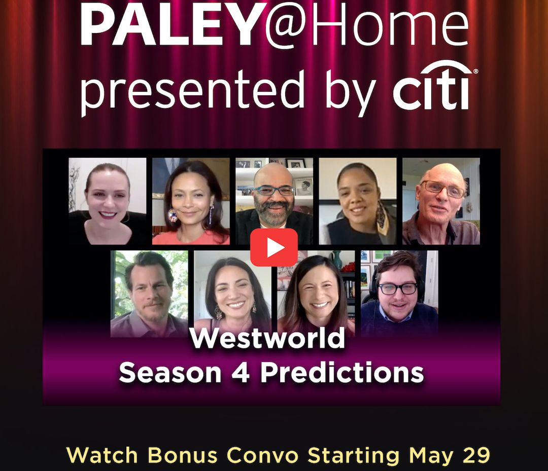 If you thought last Friday was the end of our Paley Front Row with @WestworldHBO, you definitely need to take yourself to our YouTube channel this Friday for some Season 4 predictions https://t.co/4iiVsVzZ4u https://t.co/uWczpFJMDd