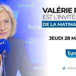 Image for the Tweet beginning: 📣Demain matin, @vpecresse est l'invité