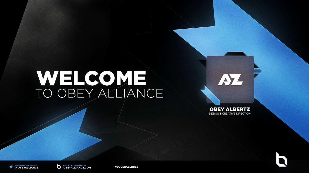 Welcome @albertz__ to Obey! 💙 #YouShallObey