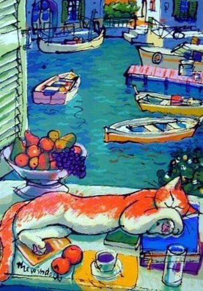 Michael Leu - The Window  #MichaelLeu #TheWindow #Taiwan #Arte #Pintura #Pintorespic.twitter.com/Grt94rouMF