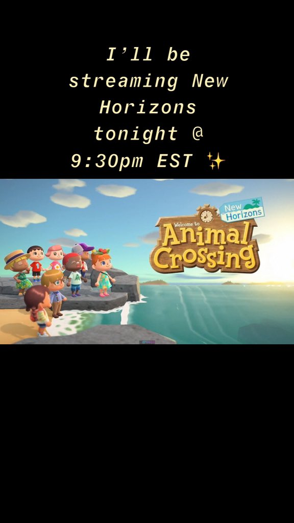 Hope to see you there!✨   #twitchtv #twitchstream #twitch #stream #TwitchStreamers #twitchgaming #stream #streaming #streamer #AnimalCrossingNewHorizons #acnh #nintendo #NintendoSwich