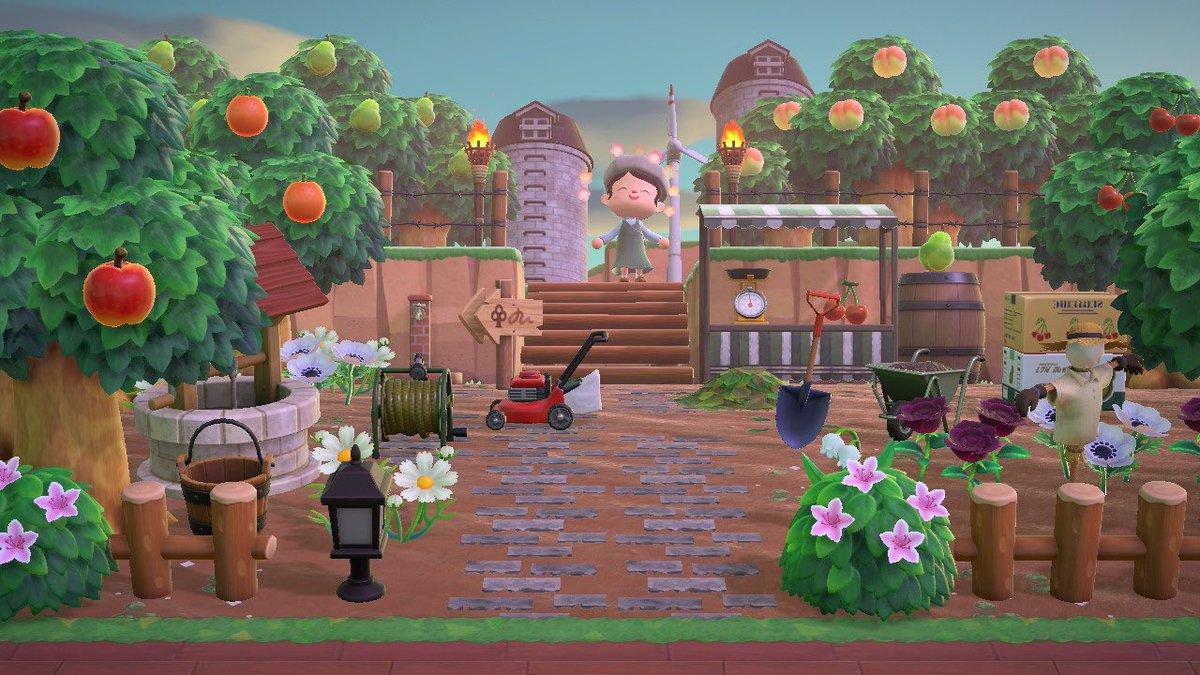 の 果樹 森 園 あつ 【あつ森】果樹園の看板マイデザインIDまとめ!オシャレなフルーツの看板が可愛い♪