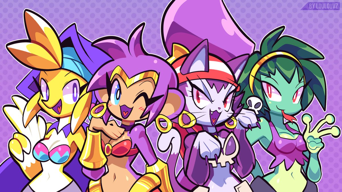 Replying to @Spaicy_Project: Shantae fanart as anthro animals ^^ 🐒 #ShantaeAndTheSevenSirens #Shantae @WayForward #Spaicy