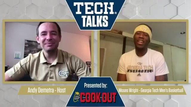 This afternoons episode of #TechTalks has @AndyDemetra catching up with @GTMBBs @mant12_ #BuiltDifferent /// #TogetherWeSwarm Presented by @CookOut