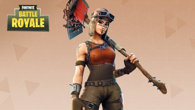 Get the Last Word with the Renegade Raider Outfit!  Available in the Item Shop now. <br>http://pic.twitter.com/T9nz1WSRJL
