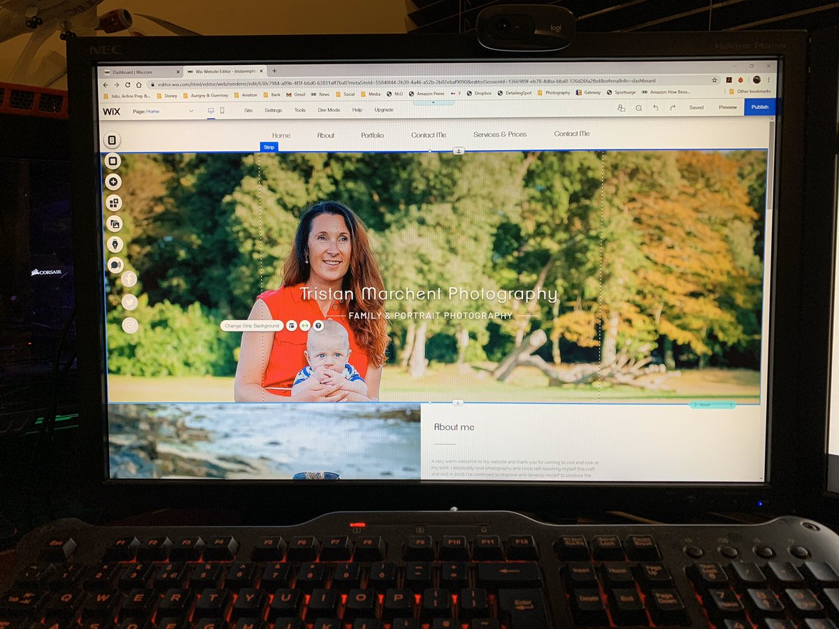 So I'm hard at work this evening re-designing my website on @wix just to make everything a lot easier for you, my future clients, to find on there #GuernseyPhotographer #Guernsey #LocalBusiness #VisitGuernsey #FamilyPhotography pic.twitter.com/lmxrgHirw3