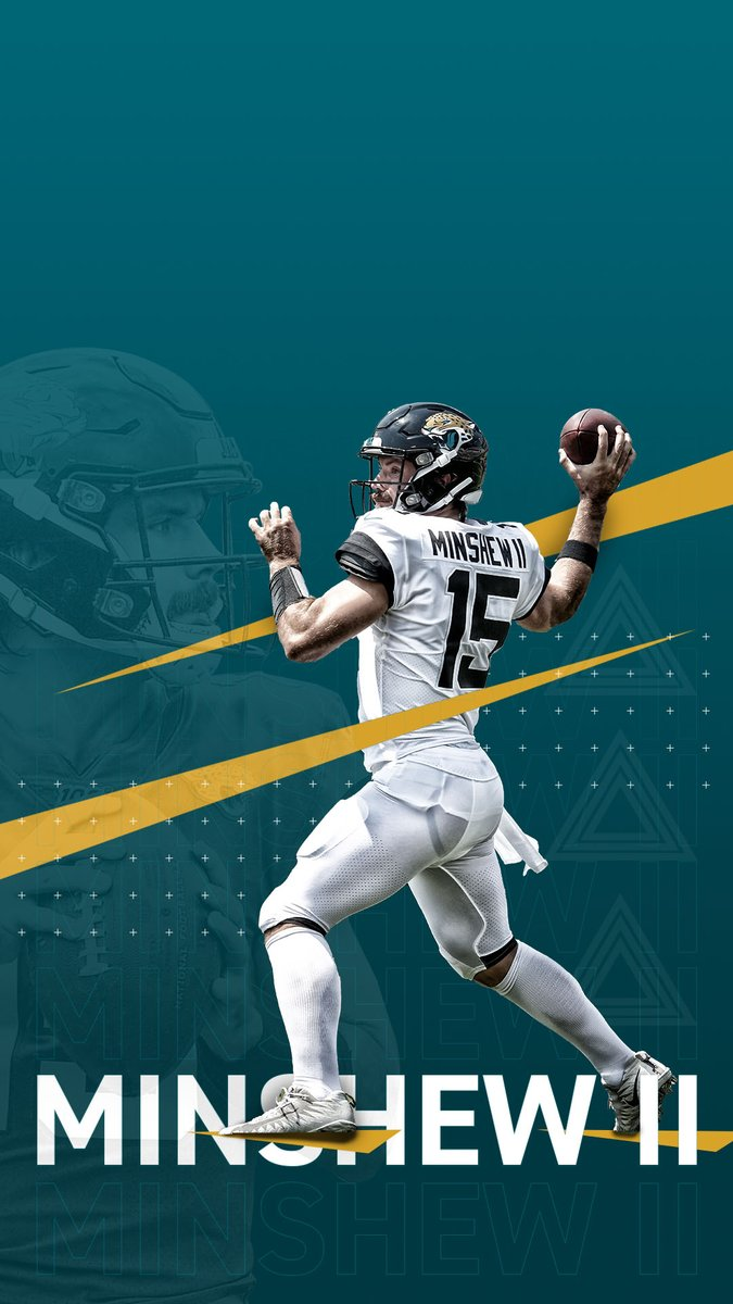 Some Minshew Mania for your phone. #wallpaperwednesdays | #DUUUVAL