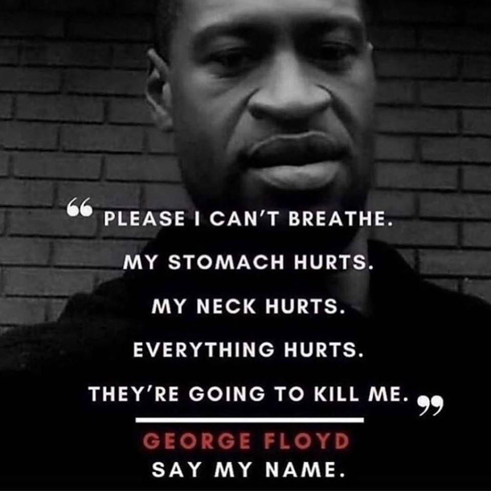#GeorgeFloyd #EricGarner #blacklivesmatter #icantbreathe https://t.co/mhQei2ca5Y
