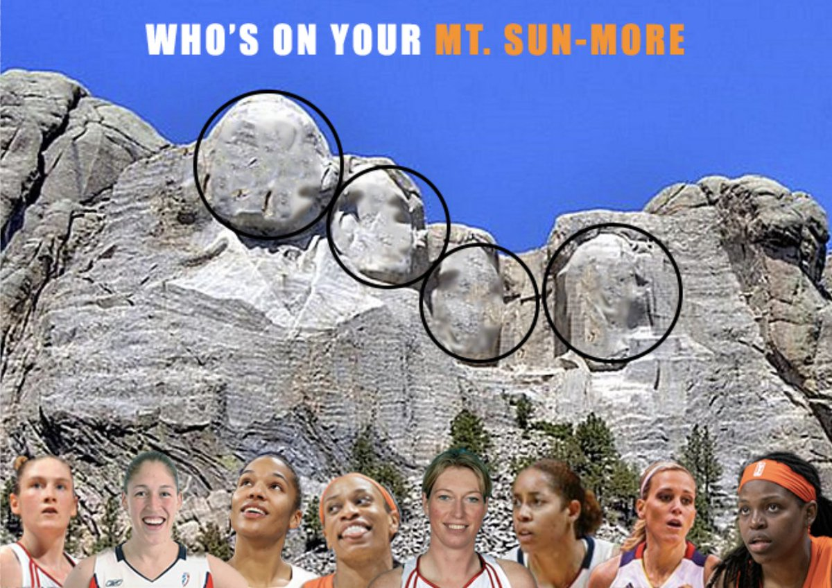You can only pick 4 - who is on your Mt. Sun-more? #SoTough https://t.co/NrUxFa25WS