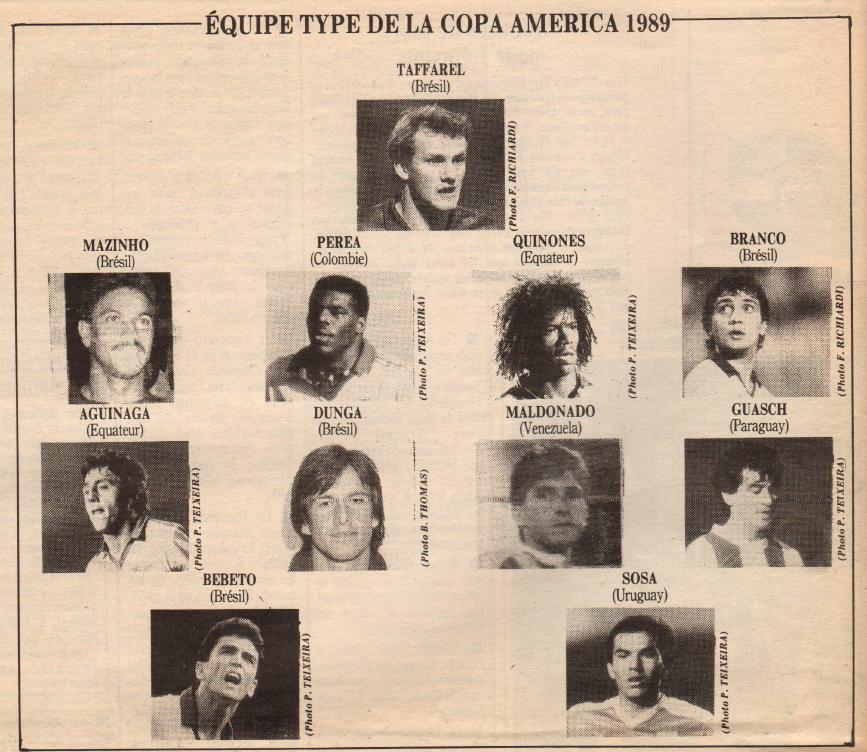 #CopaAmerica 1989 (France Football 25/07/1989) #Bebeto #Brasil  pic.twitter.com/2gboM8ID7n