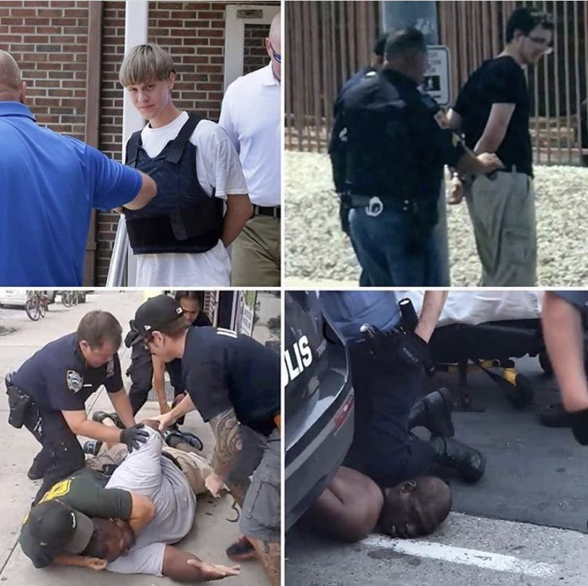 I've #HadEnough   #JusticeForGeorgeFloyd #GeorgeFloydWasMurdered  #PoliceBrutality #BlackLivesMatter #racism #GeorgeFloyd #DerekChauvinKilledGeorgeFloyd #FuKKKthepolice #EricGarner #ICantBreath https://t.co/i4mB5w28Tx