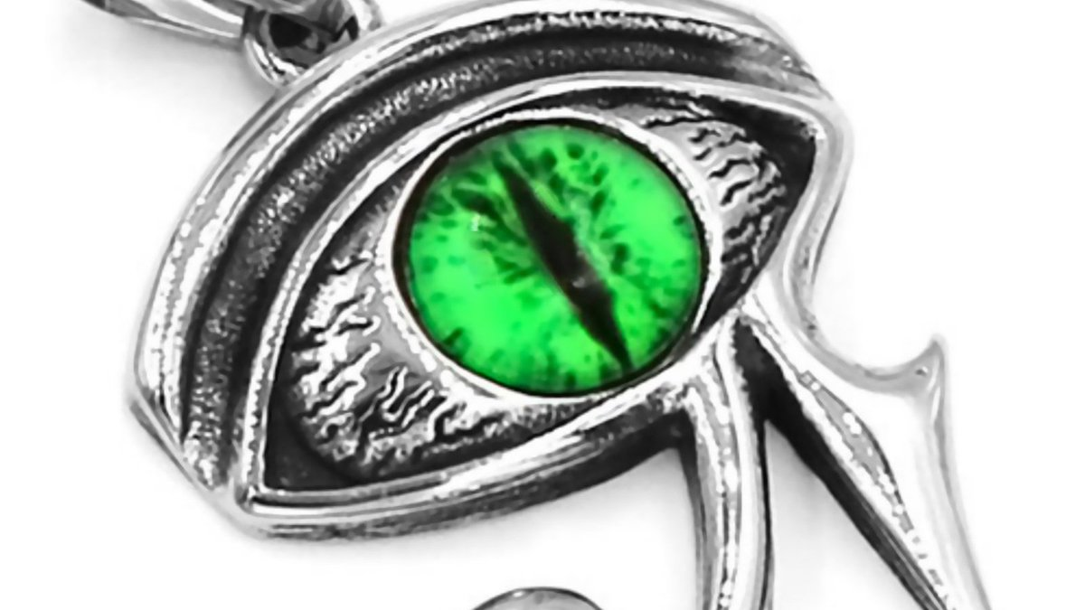 Check out this new Egyptian eye of Ra necklace stainless steel wadjet sekhmet protection pendant. Order it today from our eBay store: https://www.ebay.com/itm/Egyptian-Eye-Ra-Necklace-Stainless-Steel-Wadjet-Sekhmet-Protection-Pendant-/153945898228… #EyeofRa #EgyptianJewelry #ProtectionPendant #FantasyForgeJewelrypic.twitter.com/2UIvW99fH1