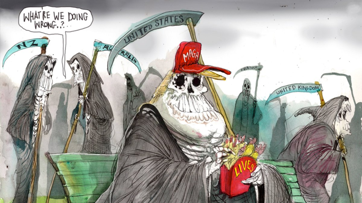 @amyklobuchar Art by @roweafr for @FinancialReview https://t.co/IyABa6kTxT