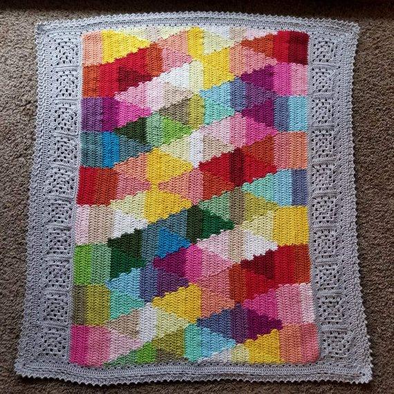 Designer Spotlight: Unique and Colorful Crochet Blanket Patterns Designed By CypressTextiles: 👉  #crochet #handmade #diy #crochetpatterns