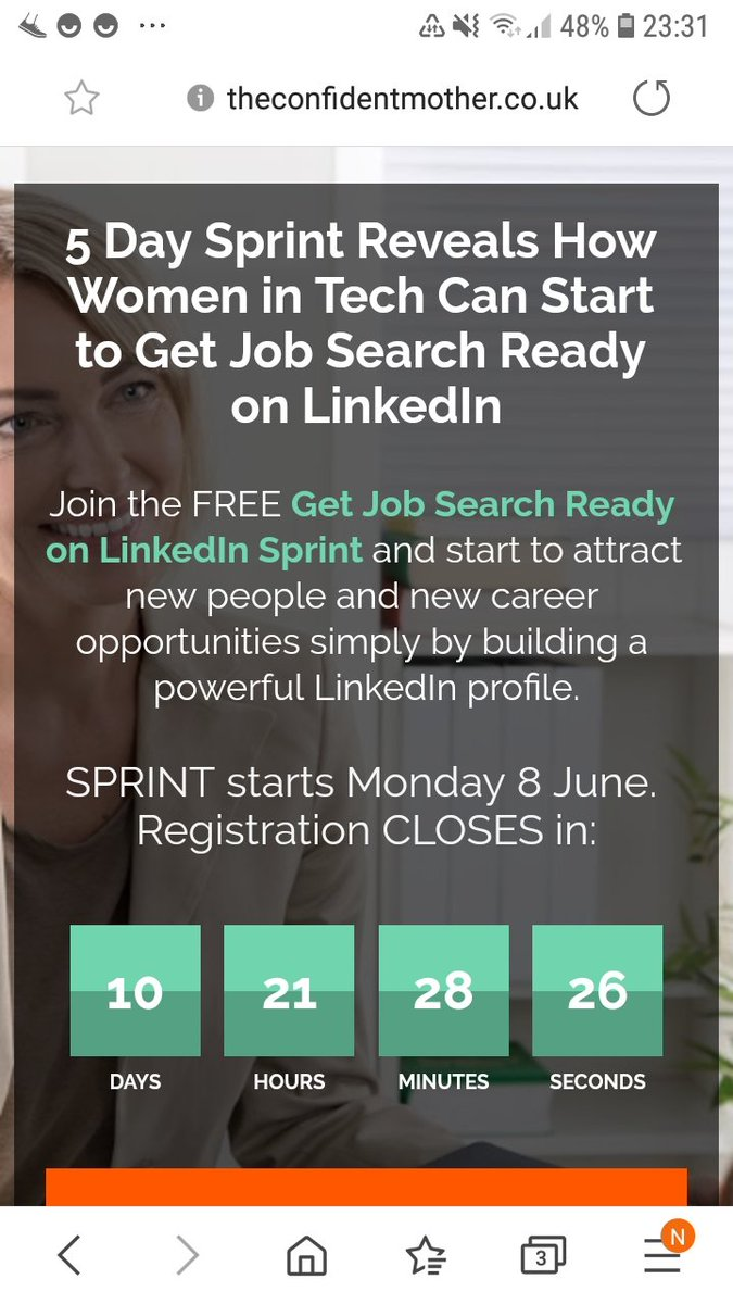 Have you heard about my brand new 5 Day Sprint to get job search ready on LinkedIn? #jobs #jobsearch #womenintech pic.twitter.com/i5mAOfQn0z