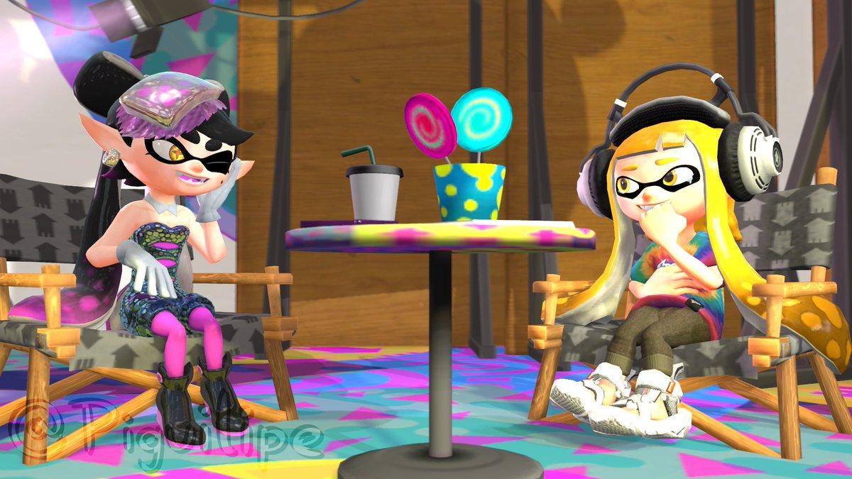Callie gets to meet her biggest fan.  #Splatoon #Splatoon2 #SplatoonSFM