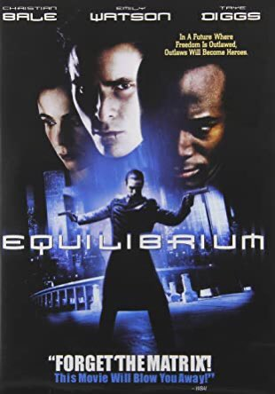 #NowWatching Equilibrium (2002) /8 <br>http://pic.twitter.com/aCfcw2sMy1