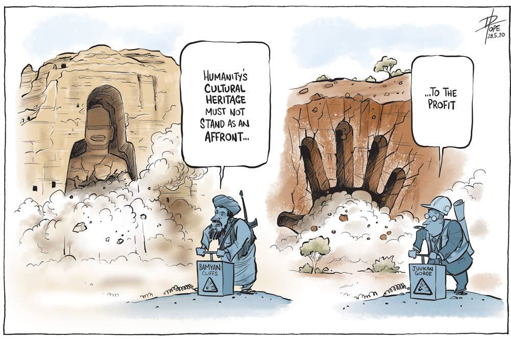 An affront to the profit @davpope in CT